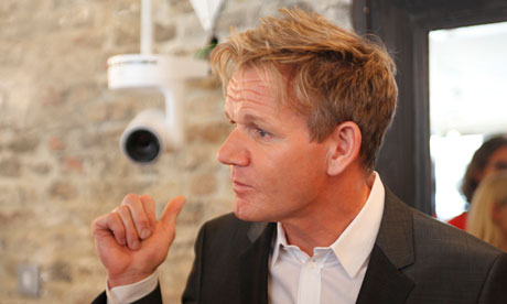 Gordon Ramsay in Hotel GB: 'I'm not going to sack anyone because of a pube.'